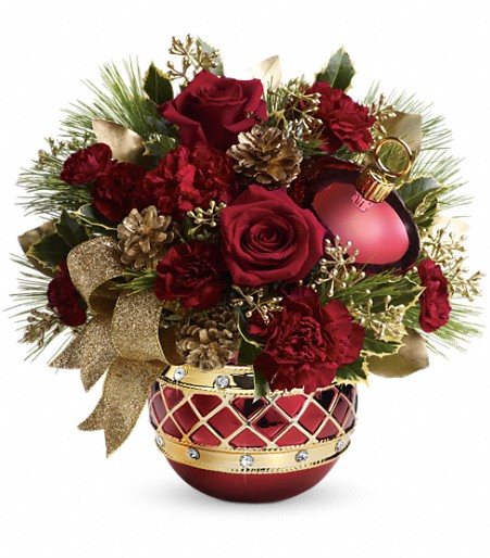 Jeweled Ornament Bouquet