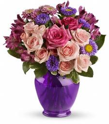Purple Medley Bouquet